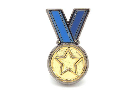 Gold Medal Pin