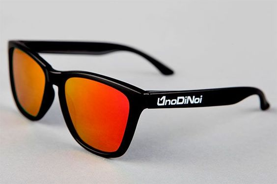 Hadar Mate Black - Red Polarized
