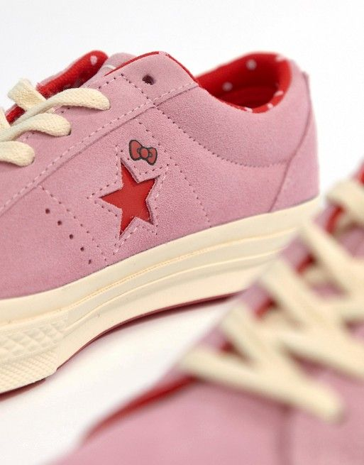 Converse X Hello Kitty One Star Sneakers | Hello kitty shoes