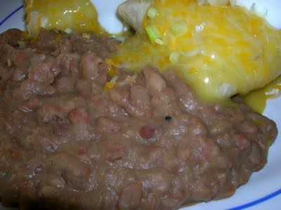 refried beans - not refried!