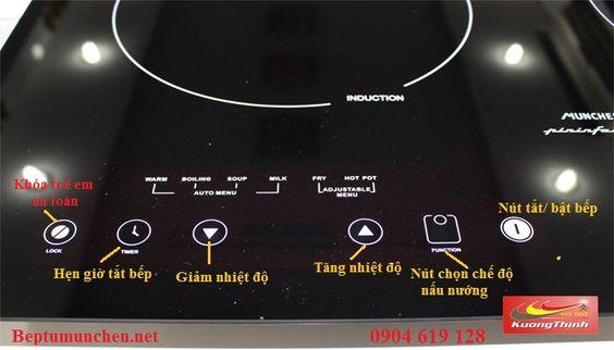 Hướng dẫn sử dụng bếp điện từ Munchen SMC 250I