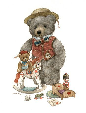 Belles illustrations de  G.Giordano /Teddy bears: