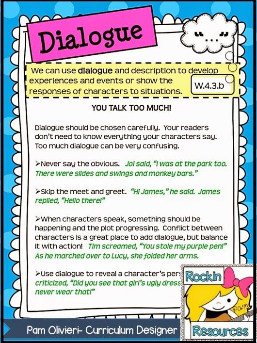 creative writing dialogue lesson plan Research paper about computer addiction news, creative writing dialogue lesson plan, creative writing novel course i love my new research paper topic hehe.