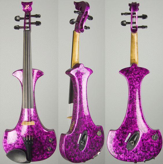 Purple Electric Violin I Love Purple Pinterest