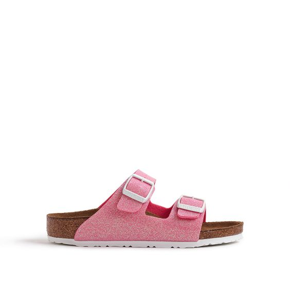 crewcuts Girls Birkenstock Arizona Glitter Sandals