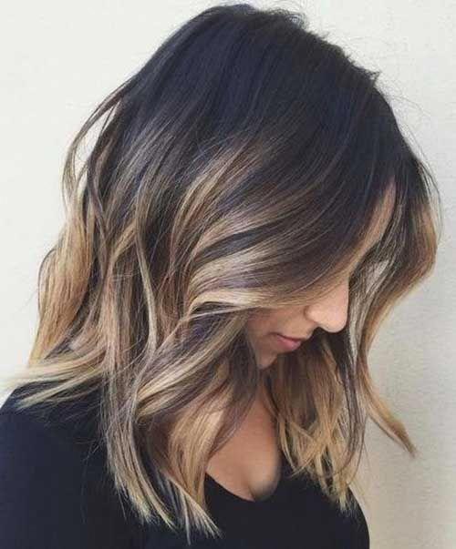 20 Different Bob Hair Color Ideas Bob Haircut And Hairstyle Ideas Short Ombre Hair Bob Hair Color Thick Hair Styles