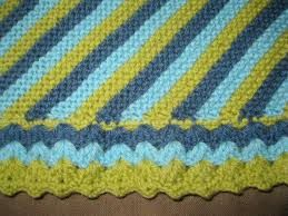 Knitted Blanket Edging Pattern : knitted and crochet blanket edgings patterns - Google Search CROCHET BORDER...