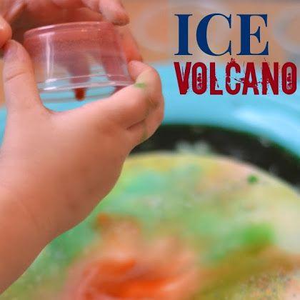 Ice Volcano {Activity for Kids}