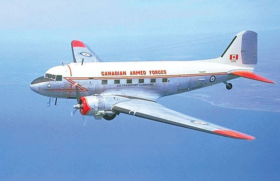 DC3 in Canadian Armed Forces Livery