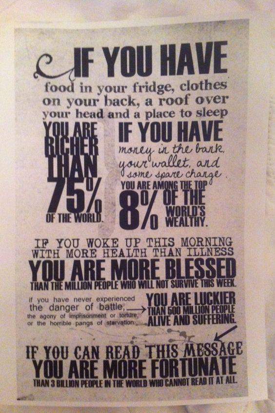 Practice the art of gratitude