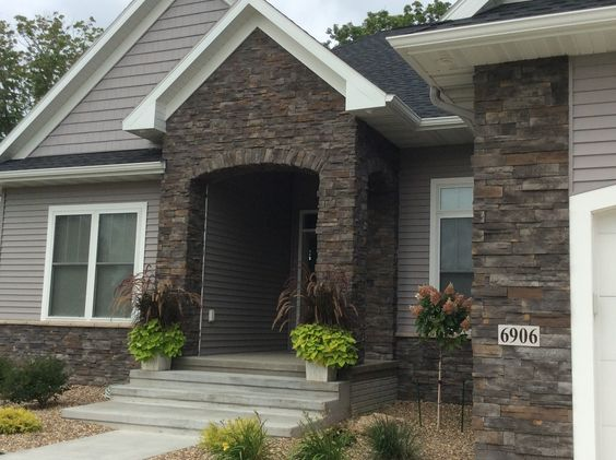 Dry Stack Stone, Stone Exterior And Stone Veneer On Pinterest