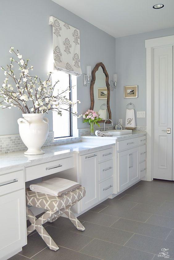 6 Gorgeous Light Blue Grey Paint Colors For Calm Interiors Hello