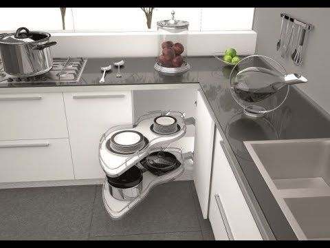 Great Space Saving Ideas Smart Kitchen 4 Youtube Kitchen Installation Smart Kitchen Corner Kitchen Cabinet
