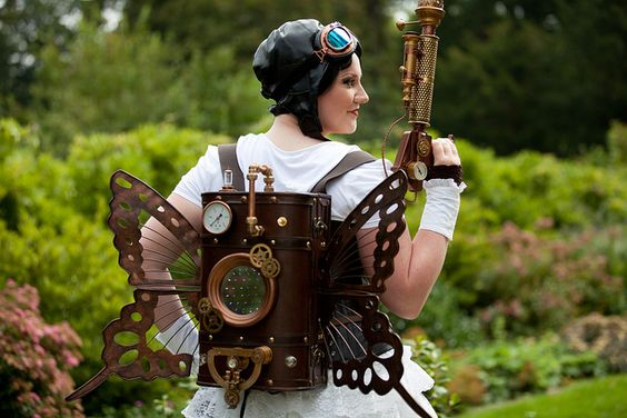 Castlefest 2011, Steampunk, Sascha by Qsimple, via Flickr