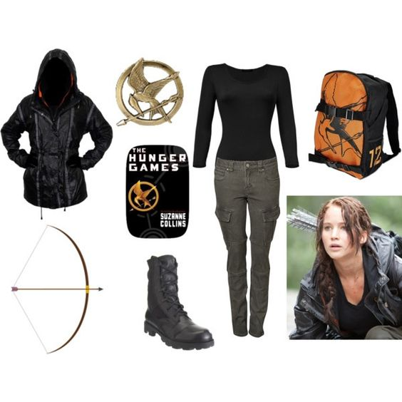 Hunger Games costume inspiration for Katniss