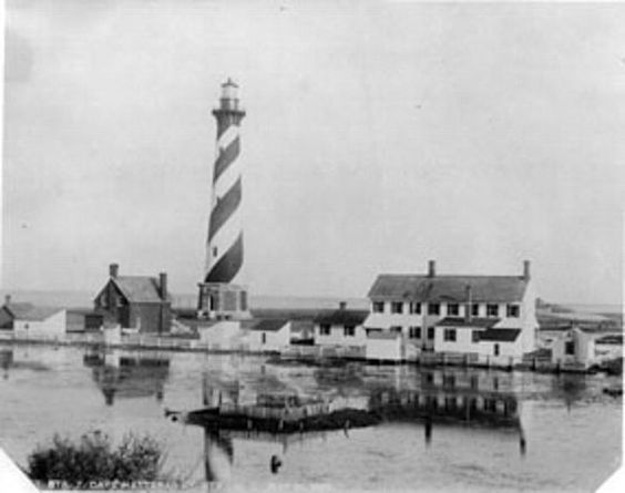 The Cape Hatteras Life-Saving Station. The Station was in use from ...