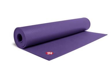 The Manduka PRO -- my future yoga mat!!   Today starts my intention to manifest it into my life! Love this purple color. :) <3