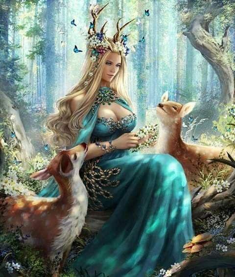 Mother Nature Fantasy Art Fantasy Art Women