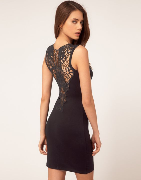 love the back of this ASOS dress!!  $24.03