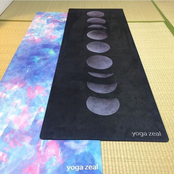 Blue Opal and Moon Phases Mat