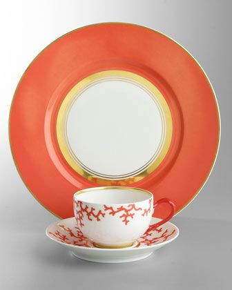 These are pieces from Raynaud Cristobal  I like the color but not too big on the fake coral graphic.