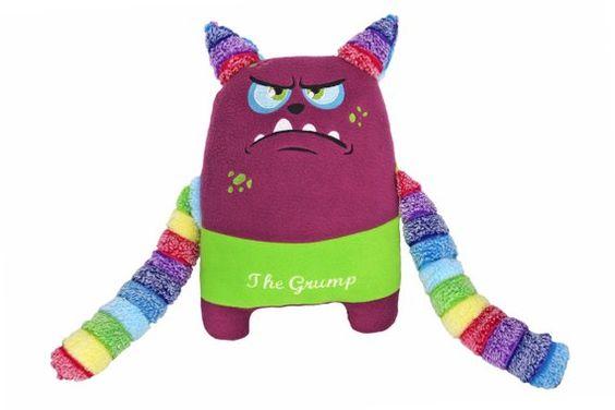 Grumpy Monster plush toy novelty soft ty softie plushie
