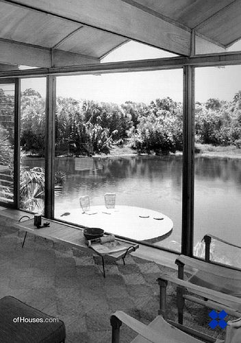 Ingram Hook guest house. 1953. Sarasota, Florida. Paul Rudolph: