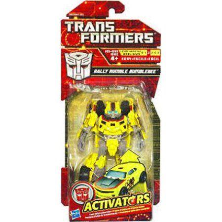 Transformers Activators Rally Rumble Bumblebee Action Figure, Multicolor