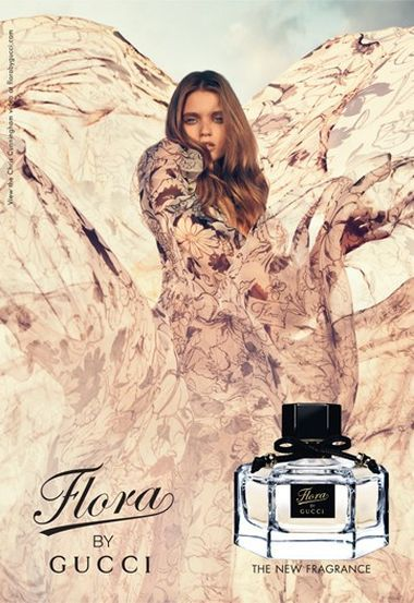 Flora by Gucci - reminds me of experiencing my first Edinburgh winter
