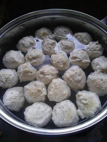 Resep Bakso Ayam Mentol Dan Kenyal Low Carb Keto Ketogenic Oleh Dicazqa Resep Resep Keto Bakso Resep