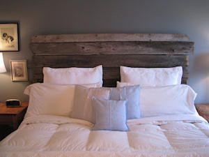 Barn Board Head board