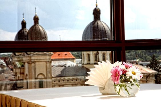 View from St. Feder hotel, Lviv