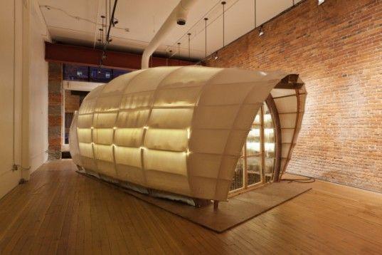 urban mushroom farm in olson kundig architects' seattle storefront