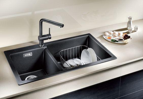 Blanco Kitchen Sink Singapore : black kitchen sinks granite kitchen sinks black kitchens stylish ...