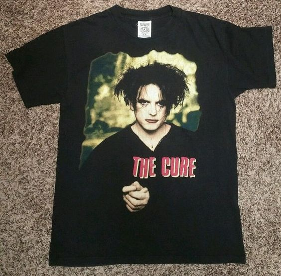 1996 The Cure Concert T shirt Treasure Lyrics Robert by MY2NDJOB