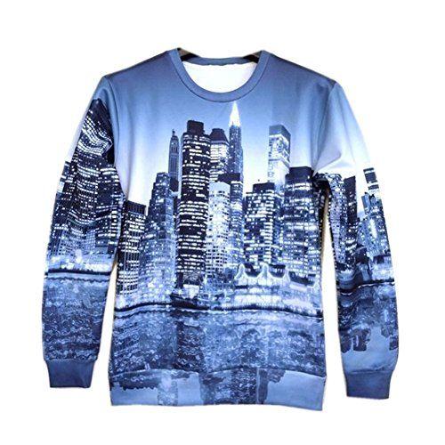 Unisex Hipster Druck midnigh Stadt schöne 3D Galaxy alten Pullover Sweatshirts (S) Terminal21 Hipster http://www.amazon.de/dp/B00O4U74FG/ref=cm_sw_r_pi_dp_j7TEub085HYFK
