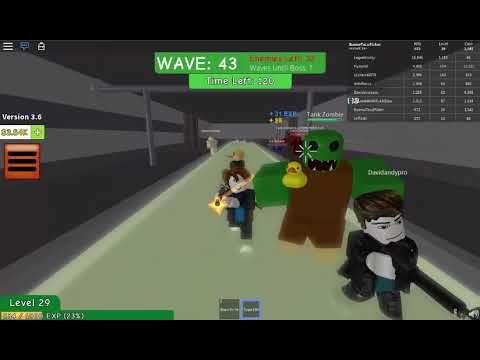 Roblox Zombie Attack Total Zombie Annihilation Zombie Attack