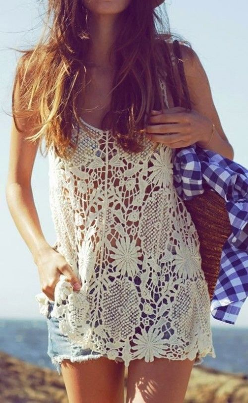 20 Girlish Summer Lace Tops To Get Inspired | Styleoholic
