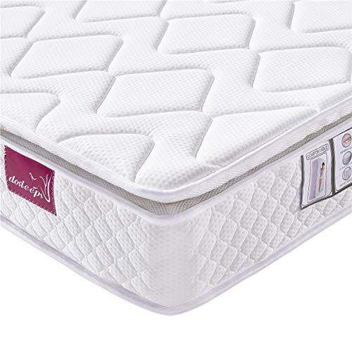 Dosleeps Double Mattress 4ft6 Mattress 9 Zone Pocket Spring Bed