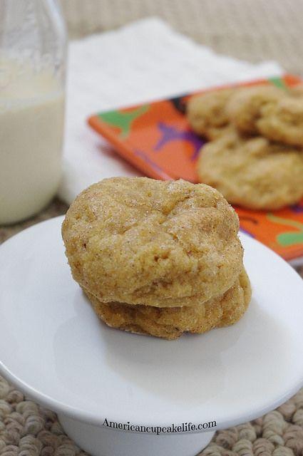 Soft Bake Pumpkin Cookies