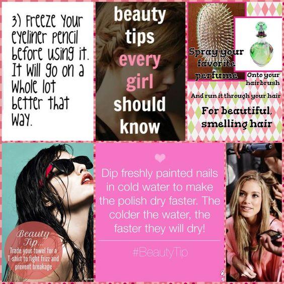 Το Cherrybox  σήμερα σας προτείνει κάποια ανέξοδα  #tips  που θα βελτιώσουν την κοριτσίστικη ζωή σας! Μυρωδάτα και υγιή μαλλιά, άψογα βαμμένα νύχια και μάτια! #beauty #tips & #tricks that will Rock your World! Try them at home!