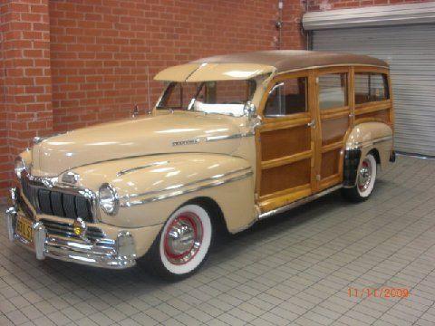 1948 Mercury Station Wagon Woody Wagon American Classic Cars