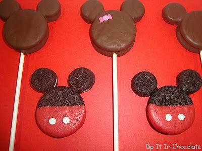 Micky Mouse Oreos
