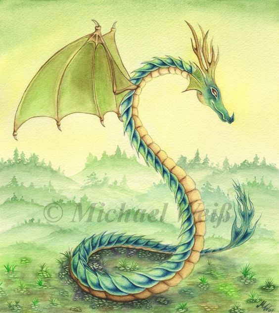 Lindworm Dragon: Colors, In Color And Ponies On Pinterest