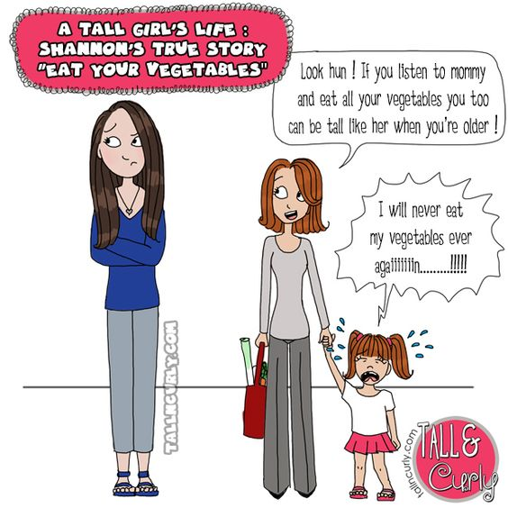 Super Tall Woman Illustrated Stories 118