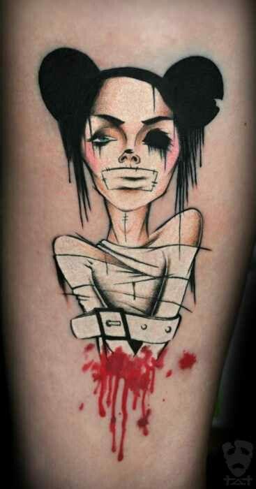 Straight Jacket Tattoo BSz7Zp