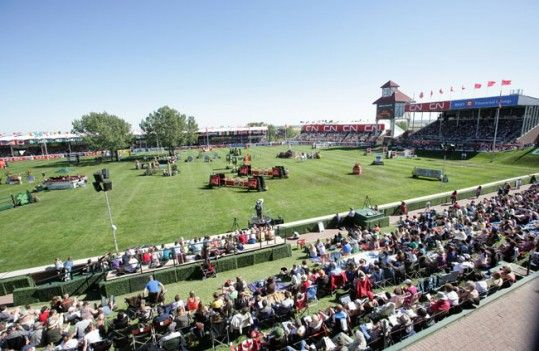Spruce Meadows in Calgary