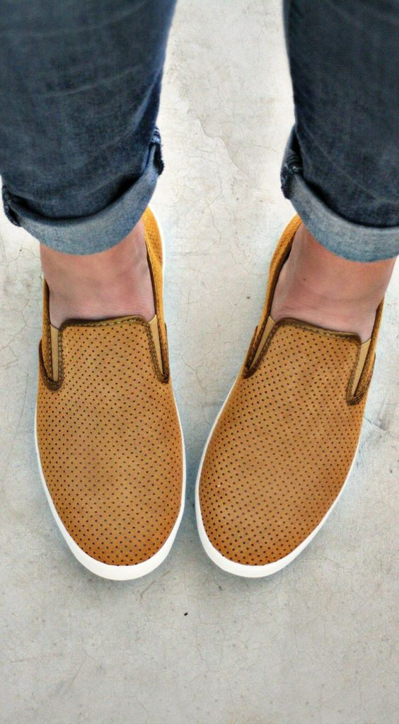 SeaVees Baja Slip On Varsity Sneakers- would be perfect as lab shoes!