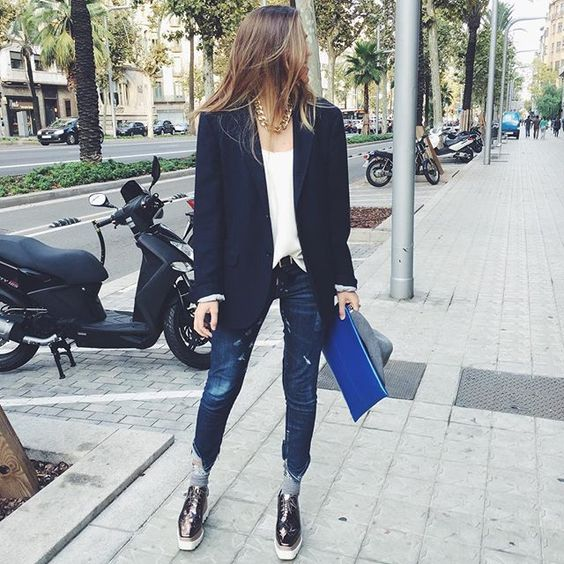 My boyfriend blazer perfect for sunday  #todaywearing #barcelona #sunday