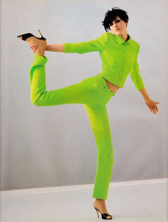 UK Vogue March 1996 Colour Blinding Ph: Arthur Elgort Model: Stella Tennant Fashion Editor: Tiina Laakkonen